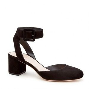 Loeffler Randall Cami Ankle Strap Round Toe Pump